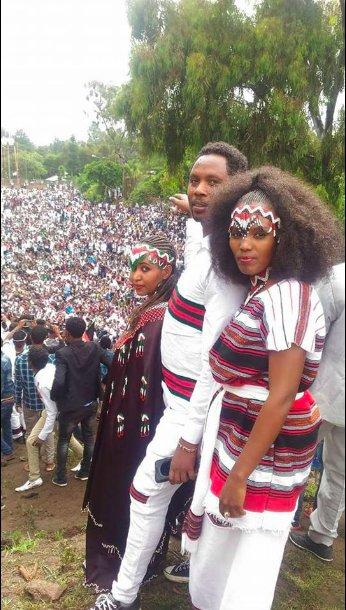 Irreecha Birraa bara 6411 (ALO), Irreecha Birraa Oromoo 2017, Hora Harsadii, Bishoftu Oromia. 1st October colorfully celebrated with millions Oromo in Bishoftu, Oromia