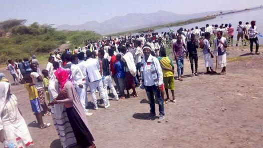 Irreecha Birraa bara 6411 (ALO), Irreecha Birraa Oromoo 2017, on 8th October 2017 colorfully celebrated in Fantalle, Malkaa Basaqaa, Oromia