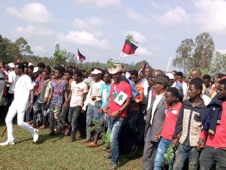 Irreecha Birraa Oromoo 2017 at Mandii, Mana Sibuu district, Wallaggaa Oromia, on 15 October 2017.png