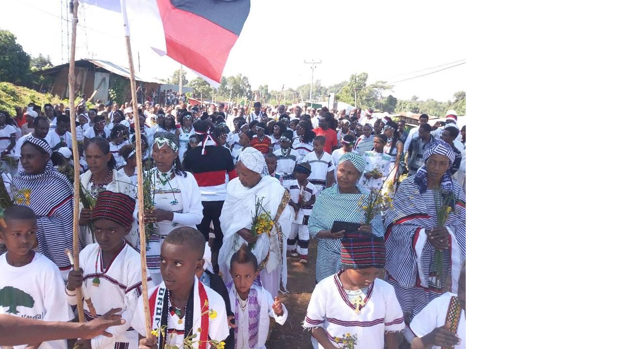 Irreecha Birraa  Malkaa Caffee Bookaa,  Horroo Guduruu Wallaggaa, Oromia, November 2017.png