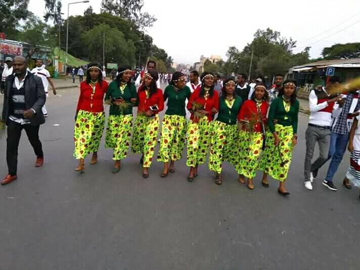 Culture, fashion at  Irreecha Birraa celebration, September 30, 2018 in Bishoftu, Oromia.png