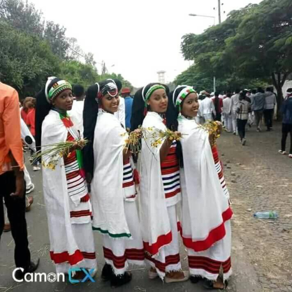 Culture, fashion at  Irreecha Birraa Oromo celebration, September 30, 2018 in Bishoftu, Oromia.png
