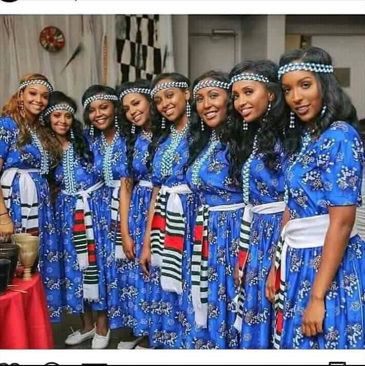 Culture, fashion, Irreecha Birraa celebration, September 30, 2018 in Bishoftu, Oromia