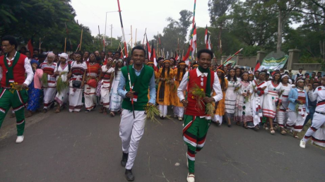 Irreecha Birraa Oromoo Celebrations, on Sunday September 30th, 2018 in Bishoftu, Oromia