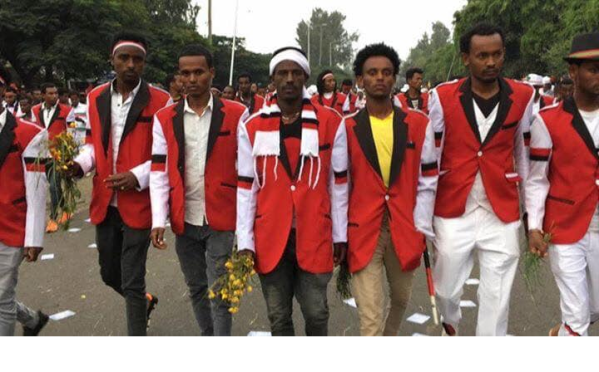 Oromo youth  Irreecha celebration, September 30, 2018 in Bishoftu, Oromia.png