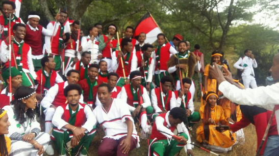 Qeerroo at Irreecha Malkaa celebration, September 30, 2018 in Bishoftu, Oromia.png