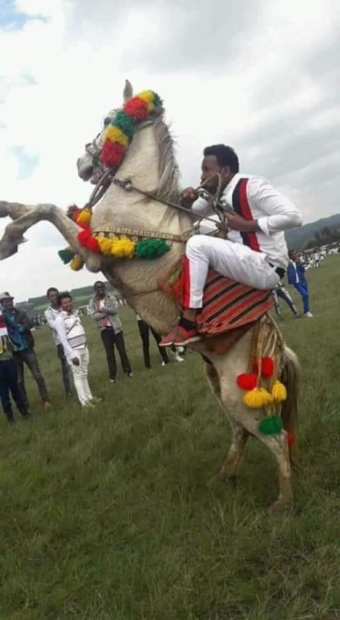 Irreecha Birraa Oromoo Malkaa Ateetee Celebration and Oromo Horse Man on Sunday  8th October  2018 in Buraayyuu, Oromia.png