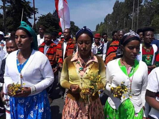 Irreecha Birraa Oromoo Malkaa Ateetee Celebrations, on Sunday  8th October  2018 in Buraayyuu, Oromia.png